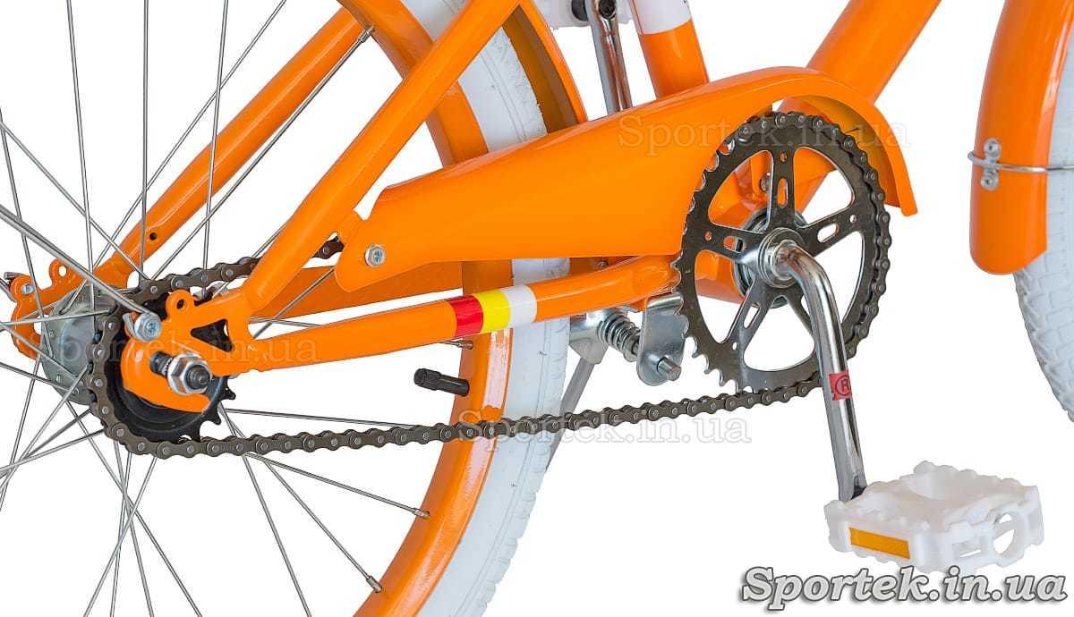 Велосипед Dorozhnik Arty 2017 - трансмиссия