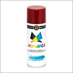 Краска аэрозольная универсальная акриловая Monarca RAL (красное вино)