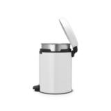 Мусорный бак newicon (5 л), металлическое внутреннее ведро, Белый, арт. 113406 - превью 3