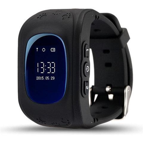 Детские часы с GPS Smart Baby watch Q50 (Black)