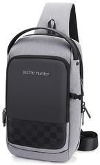 Однолямочный рюкзак  ARCTIC HUNTER XB00150 Серый USB