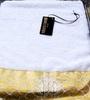 Набор полотенец 3 шт Roberto Cavalli Gold белый