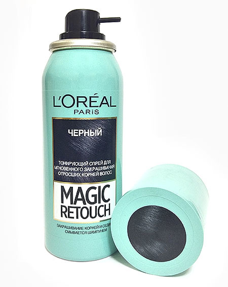 L'Oréal Magic Retouch черный, 75 мл