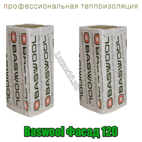 Baswool Фасад 120 1200*600мм толщина 40-150м2