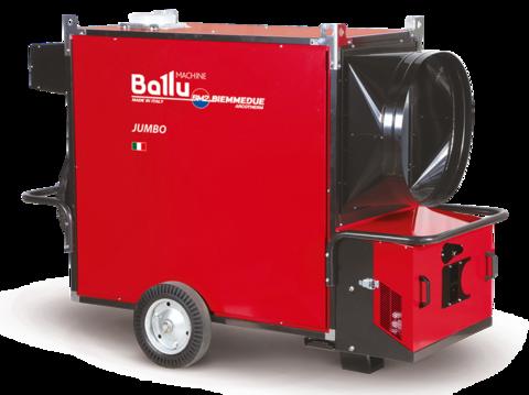 Теплогенератор мобильный Ballu-Biemmedue JUMBO 185T (400V-3-50/60 Hz)