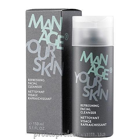 Dr. Spiller Manage Your Skin Refreshing Facial Cleanser - Освежающий гель для очищения кожи лица