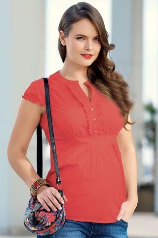 Блузка 01329 красный