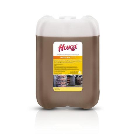 Профессиональная химия Ника-КМ, 6.0 кг, ср-во конц в/щелочн моющ,б/пенн,кан