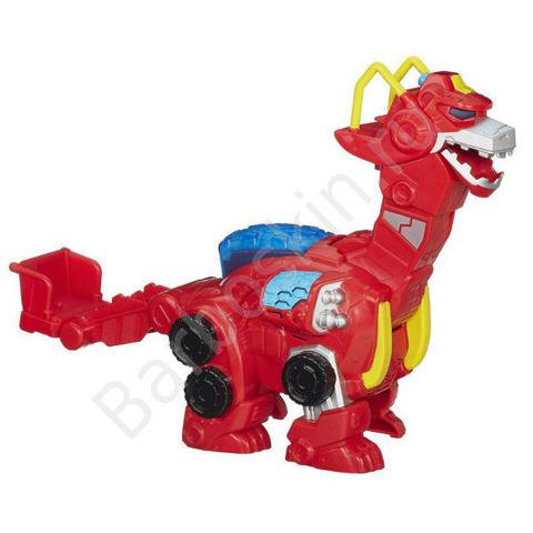 Робот - трансформер Playskool Хитвейв Динобот со звуковыми и световыми эффектами (Heatwave DinoBot) - Боты спасатели (Rescue Bots), Hasbro