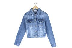 62096 куртка женская, джинсовая