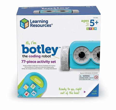 Learning Resources: Набор Робот Ботли. Основы программирования. Делюкс LER2935 — Learning Resources Botley the Coding Robot Activity Set