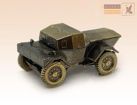 фигурка Британский бронеавтомобиль Даймлер Мк-1 Динго - Daimler Scout Car (1:100)