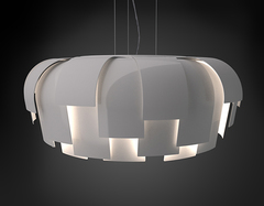 люстра Wig Light by Chris Hardy for FontanaArte