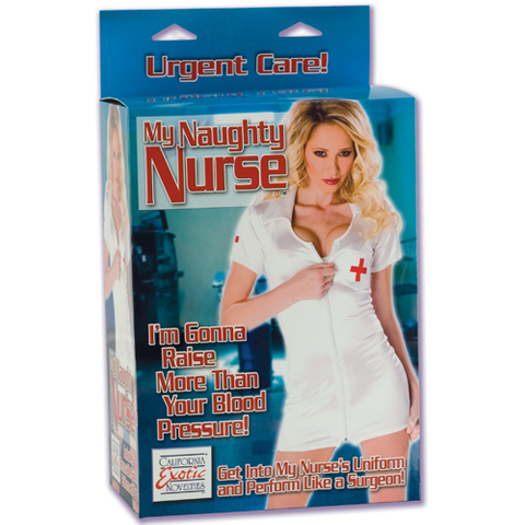 California Exotic My Naughty Nurse Любовная кукла-медсестра