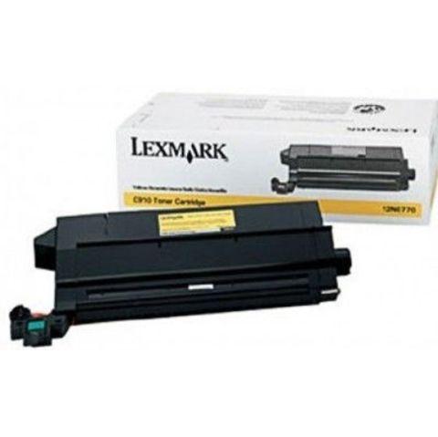 Картридж для принтеров Lexmark C910, C912 желтый (yellow). Ресурс 14000 стр (12N0770)