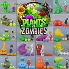 Растения против Зомби стреляющая игрушка серия 02 в пакете