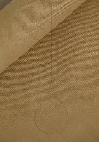 Мраморный канвас, цвет песочный