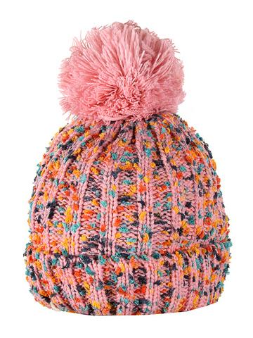 HT1814-1 шапка женская, розовая