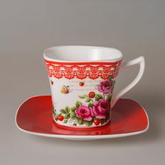 Набор чайный (1 чашка +1 блюдце) 220мл 0030104