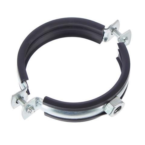 Хомут с резиновым профилем для воздуховода D 180 мм