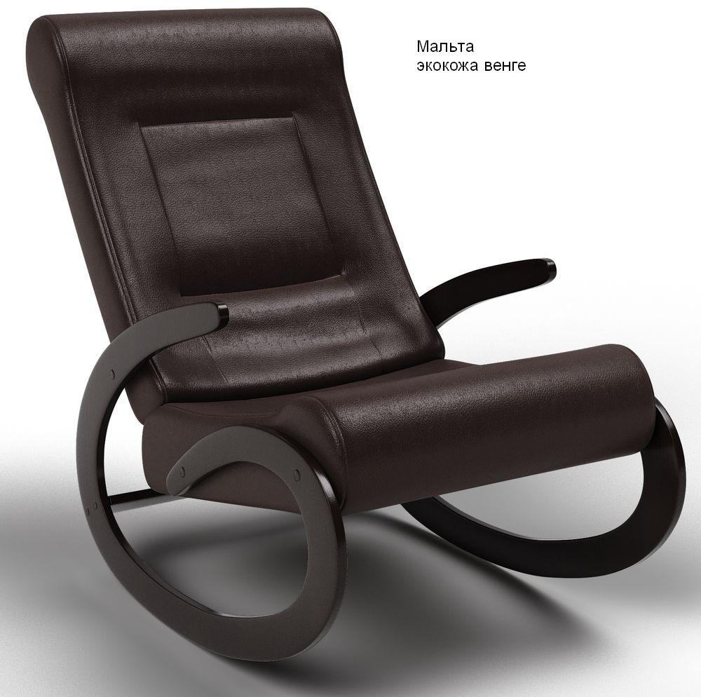 Кресла качалки Кресло-качалка Мальта Экокожа мальта_венге.jpg