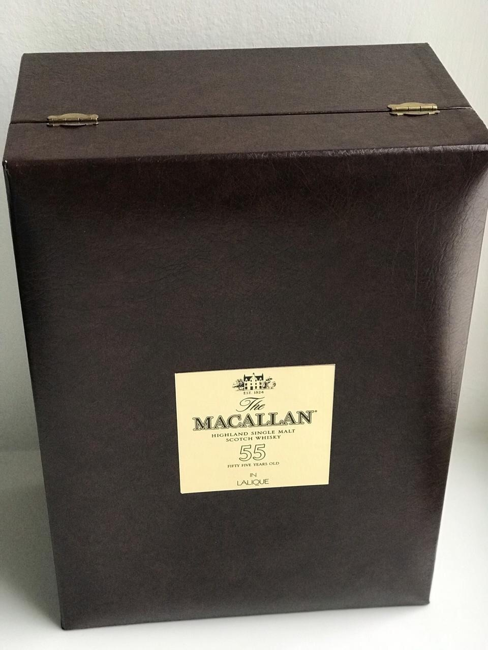 Macallan Lalique 55 years