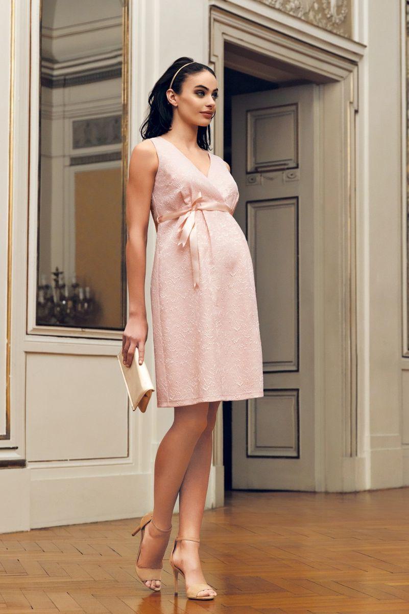 Платье для беременных 08697 розовый