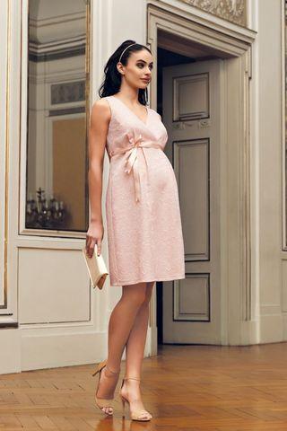 Платье 08697 розовый