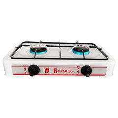 Газовая плита настольная 2-конфорочная ВАСИЛИСА ГП2-1080