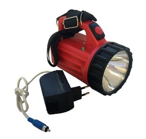 Фонарь аккумуляторный сигнально-осветительный светодиодный ФАСО-4С c зарядным устройством