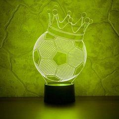 Футбольный мяч с короной