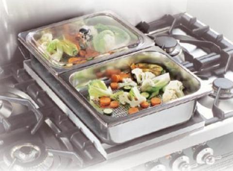 Контейнеры для приготовления блюд на пару ILVE G/002/02