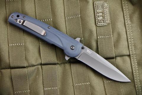 Складной нож Biker X AUS-8 Gray Titanium