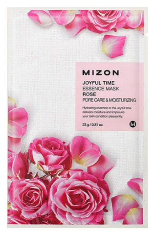 Маска тканевая Joyful Time Essence Mask Rose от Mizon