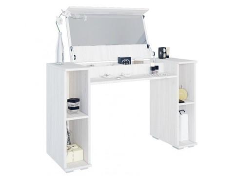 Косметический стол Лагуна БТС ясень белый