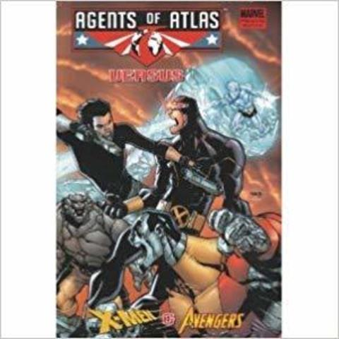 Agents of Atlas VERSUS X-Men & Avengers HC