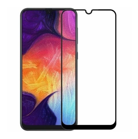 Защитное стекло Full Screen 5D для Samsung Galaxy A70, черное