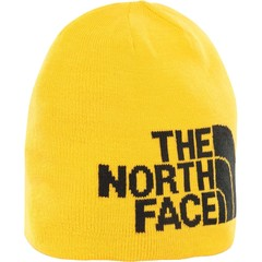 Шапка North Face Highline Beta Beanie Tnf Yellow/Tnf Black