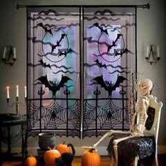 Ужасы декорация занавески Паутина — Halloween Decoration Curtains Spider Web