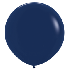 Шар (36''/91 см) Темно-синий (044), пастель