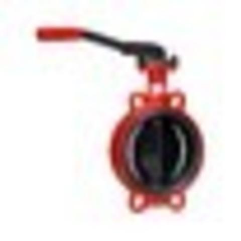 Затвор дисковый поворотный чугун ЗПВС Гранвэл Ду 50 Ру16 межфл с рукояткой диск чугун манжета EPDM ADL FLw-3-050-MN-E