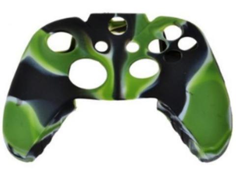 Xbox One Чехол для геймпада (камуфляж зеленый)