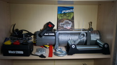 Лебёдка Electric Winch 12000lbs М/Т