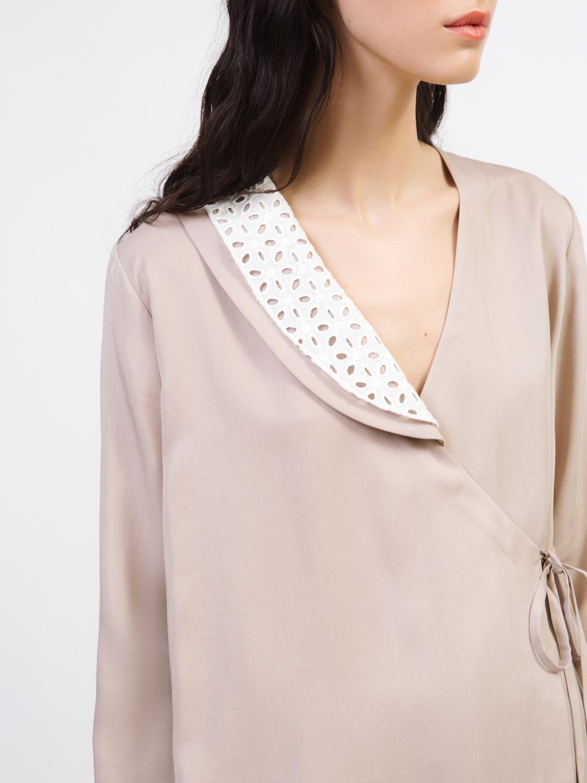 Блуза с запахом