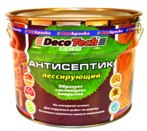 Decotech Eco/Декотек Эко Антисептик алкидный лессирующий