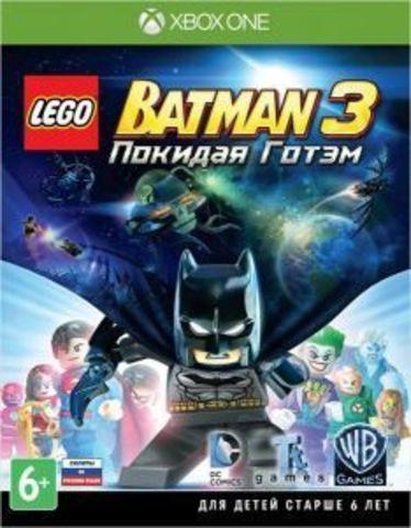 Microsoft Xbox One LEGO Batman 3. Покидая Готэм (русские субтитры)