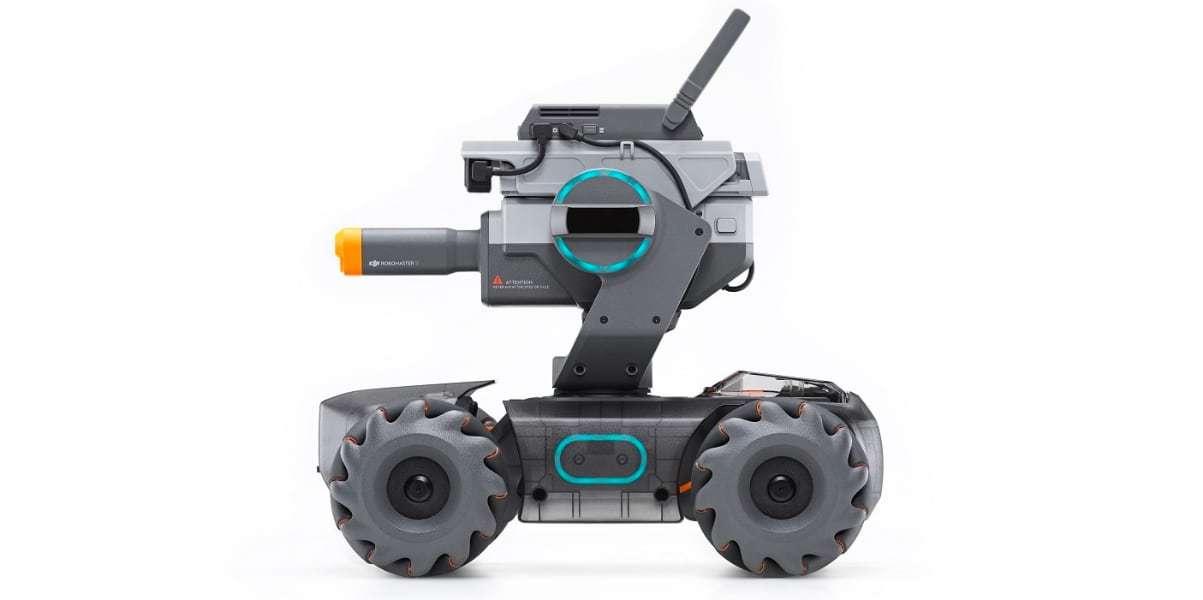 Робот DJI RoboMaster S1 вид сбоку