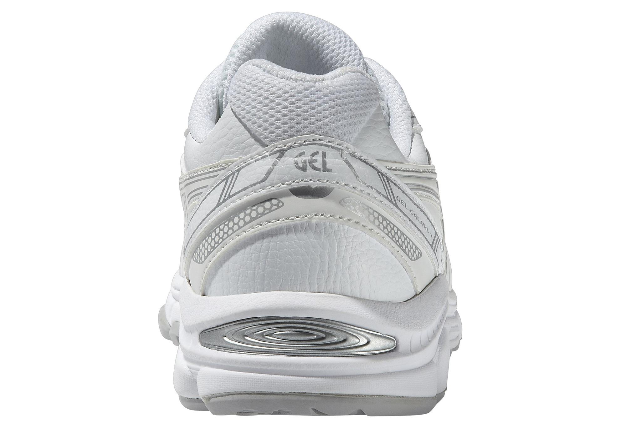 Детские кроссовки для бега Asics Gel-Galaxy 7 SL GS (C443Y 0100) белые