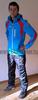 Утеплённая прогулочная лыжная куртка Nordski Active Blue/Black мужская
