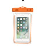 Чехол водонепроницаемый неоновый универсальный Neon 10x15 см (Оранжевый)